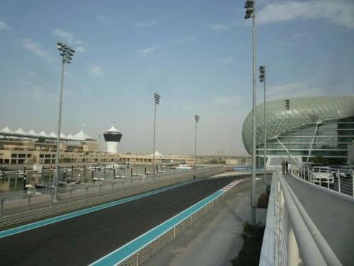 Yas Marina circuito