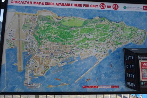 Mappa Gibilterra