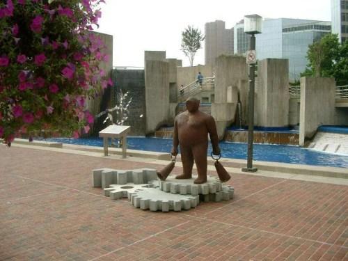 Baltimora fontana