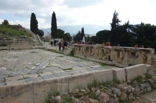 Teatro di Dioniso acropoli Atene