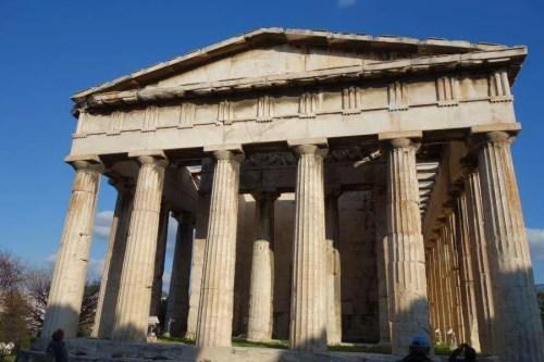 Tempio Efesto agorà greca