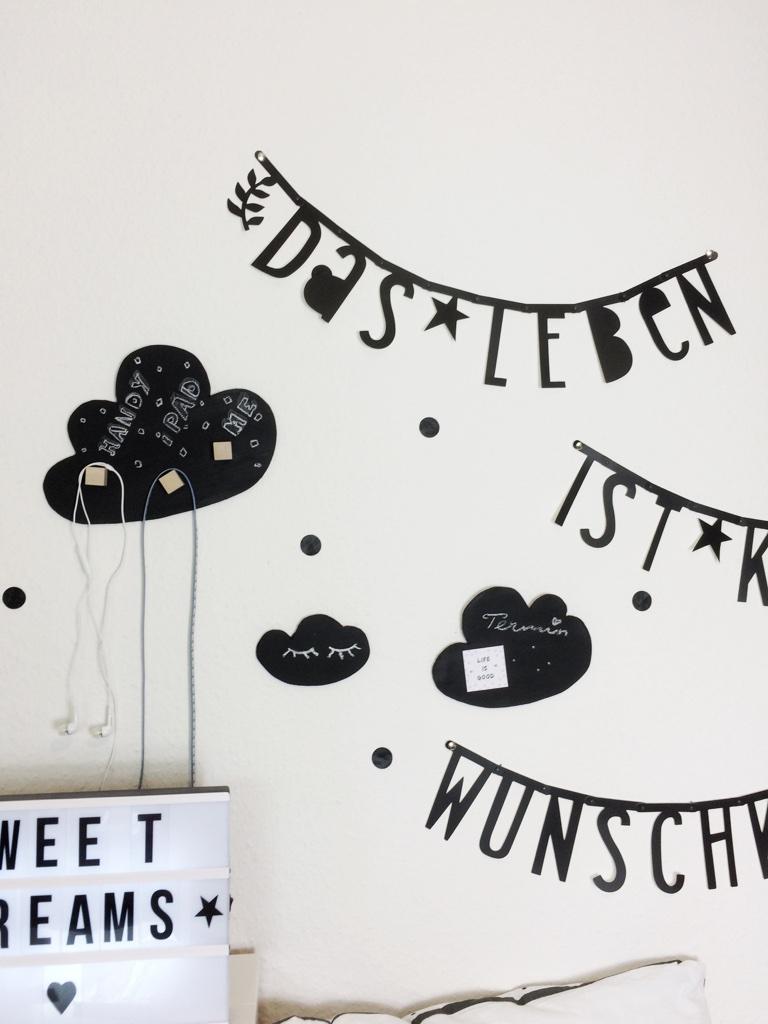 Diy wolken kinderzimmer dekoration nordic style for Dekoration kinderzimmer