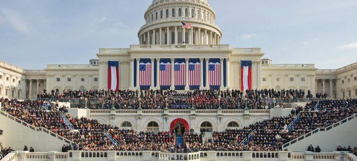 The White House on Inauguration Day 2013