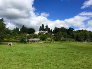 Brockhole's grounds and visitor centre