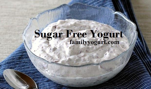 sugar free yogurt
