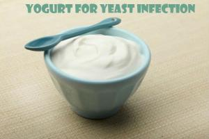 yogurt for yeast infections