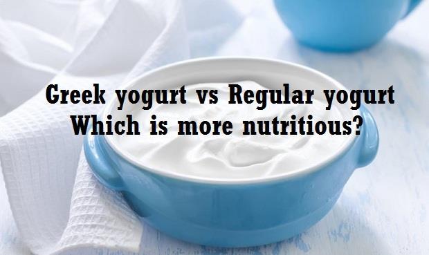 greek yogurt vs regular yogurt