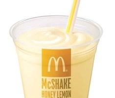 マックシェイクはちみつレモン