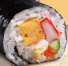 はま寿司の海鮮恵方巻