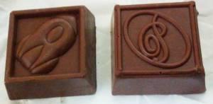チロルチョコロイズ比較写真開封後