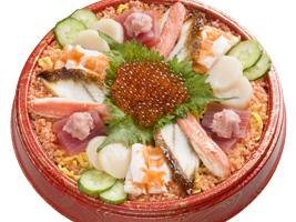 スシローちらし寿司2~3人前