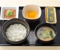 吉野家朝食2018年「納豆定食」