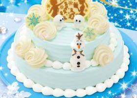 サーティーワン アイスケーキ アナと雪の女王サプライズクリスマスケーキ