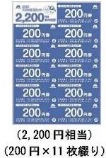 モスの福袋2016 お年玉セット 2200円分お年玉券