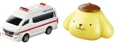 マックのハッピーセット4月~5月トミカとサンリオおもちゃの一例