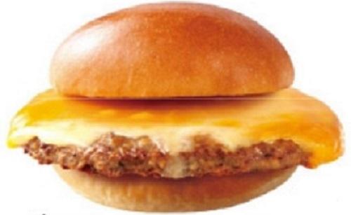 ロッテリアの肉がっつり絶品チーズバーガー