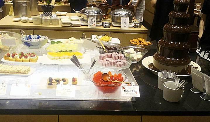 串家物語、チョコフォンジュとデザート
