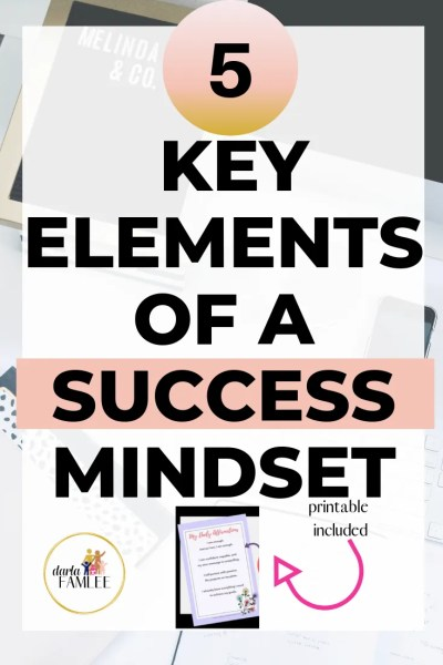 How to Drastically Change Your Mindset in 5 Steps | Mindfullness | Goal Setting Tips | Productivity Tips | Mindset Improvement
