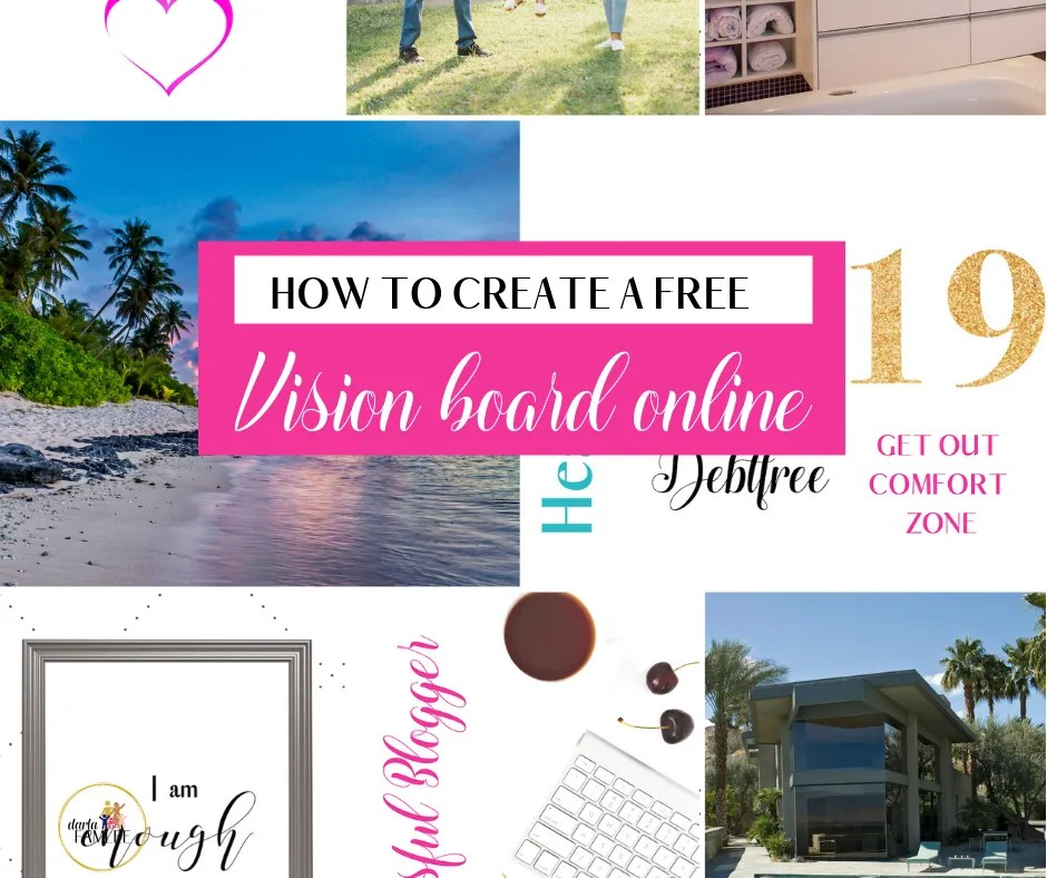 how to create a beautiful vision board online for free   mobile   desktop