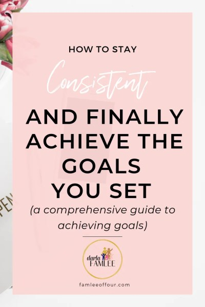 The Key is learning how to stay productive so you can get more done. You can achieve this my being consistent and maximizing your day. Click through to read the most effective ways to be consistent even when you are unmotivated Personal Growth| Famleeoffour.com| consistency is key, stay motivated