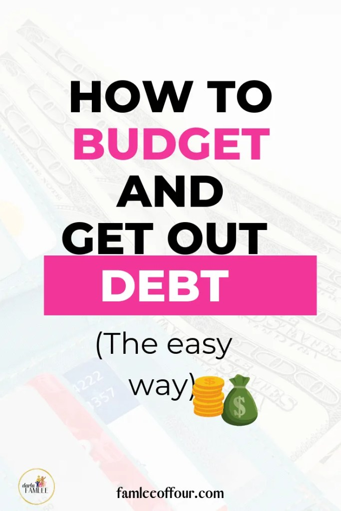 The easy monthly budgeting method to help you save money and get out of debt. Create the financial freedom you deserve.  Dave Ramsey| Baby steps | Debt Diet| Save Money