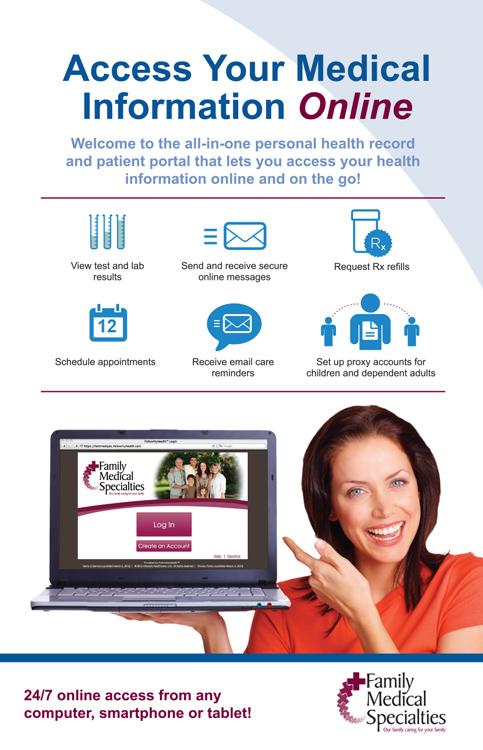 Patient Portal Family Medical Specialties