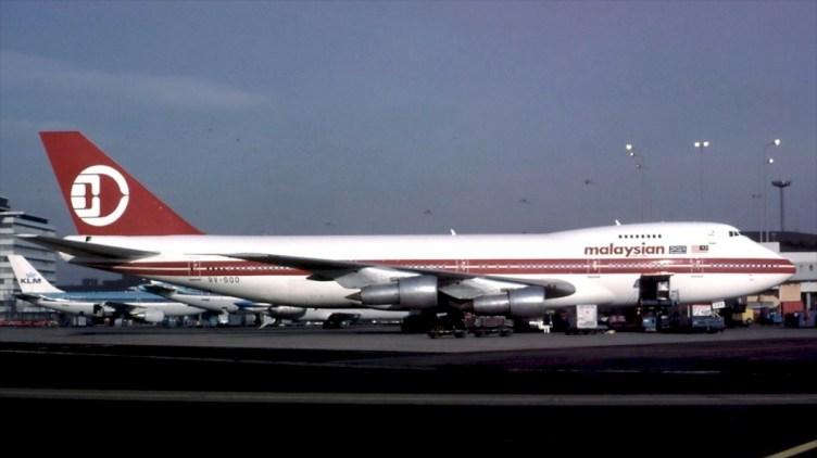 Boeing B747-200 di Malaysia Airlines negli Anni 80 - © Ger Buskermolen
