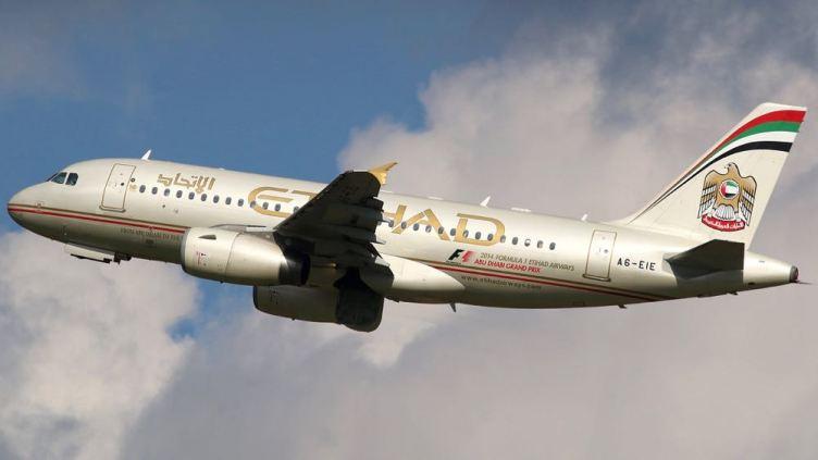 Etihad Airbus A319