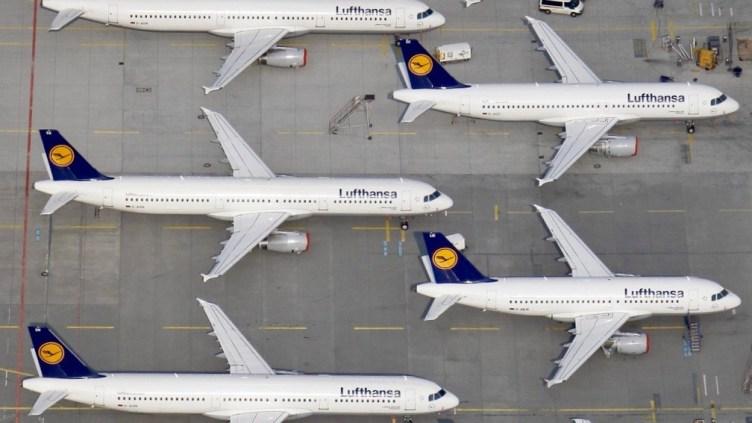 il mercaro europeo è saturo di offerta; apparecchi Lufthansa - © Johannes Eisele / Reuters