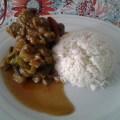 viande d'agneau aux légumes