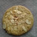 biscuits au pralin et amandes effilées