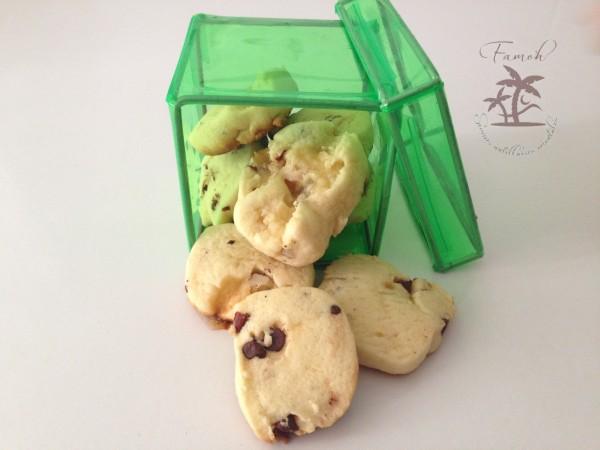 Cookies aux éclats de caramel