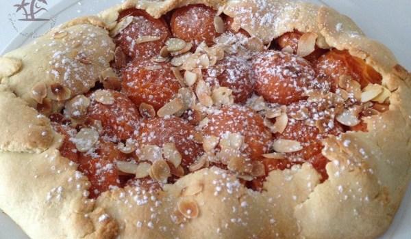 Ma simple tarte rustique aux abricots