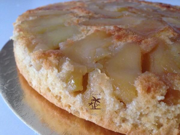 Gâteau pommes tatin excellent.