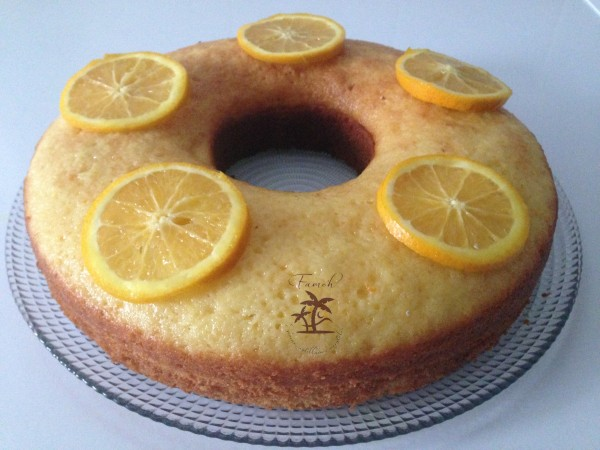 Gâteau à l'orange.