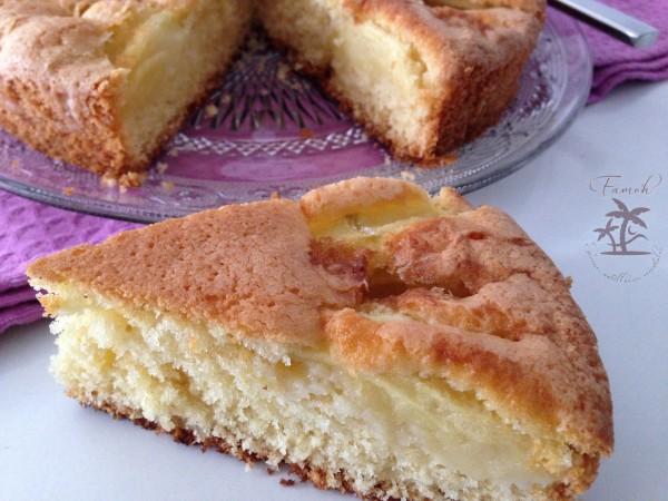 Gâteau suave aux pommes