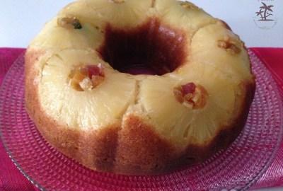 Le gâteau renversé ananas.