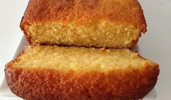 Cake à l'orange.