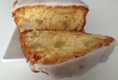 Cake aux poires et vanille.