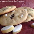 Cookies aux calissons de Provence