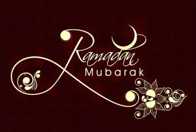 Bon Ramadan!