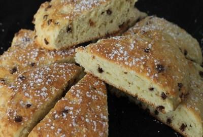 English scones pépites chocolat