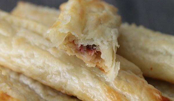 feuilleté apéritif aux anchois