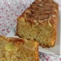 Cake aux pommes amandes effilées