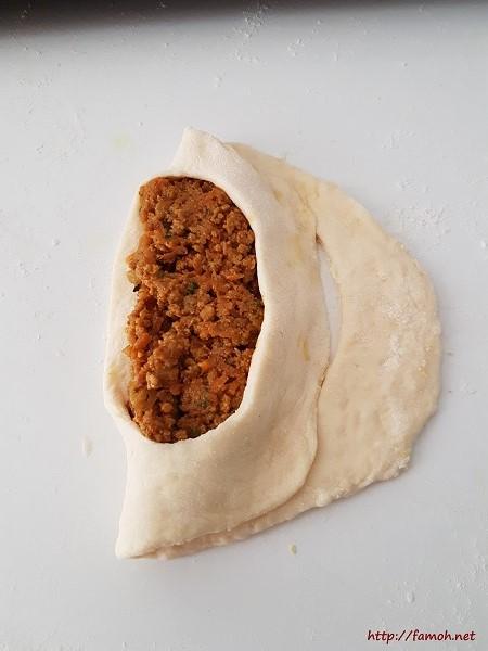 Petit pain farcie viande hachée