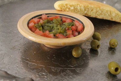 Salade mechouia tunisienne