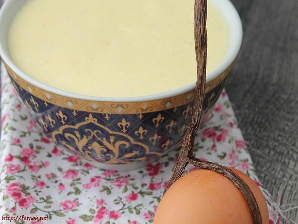 Crème anglaise facile