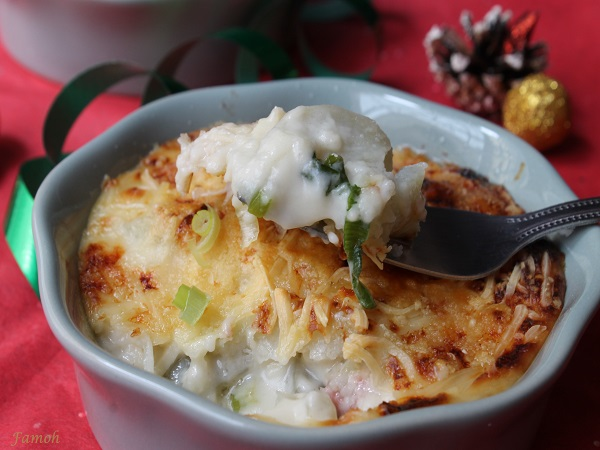 gratin de patate douce à l'antillaise