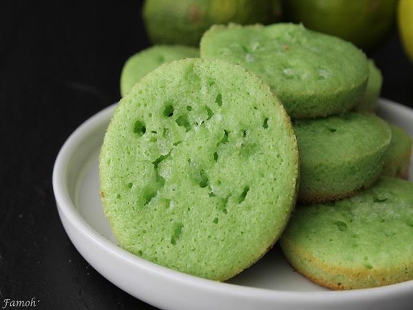 financiers citron vert