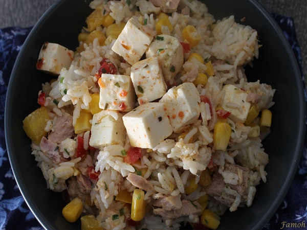 salede de riz froide simple